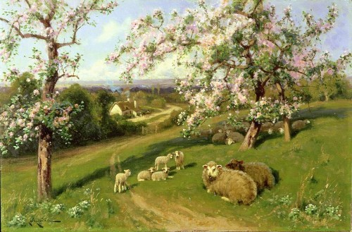 Spring One Set The Four Seasons Painting