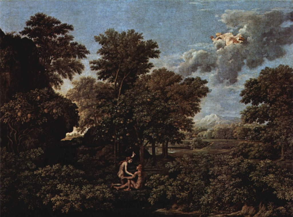 Spring The Earthly Paradise Nicolas Poussin Wikipaintings