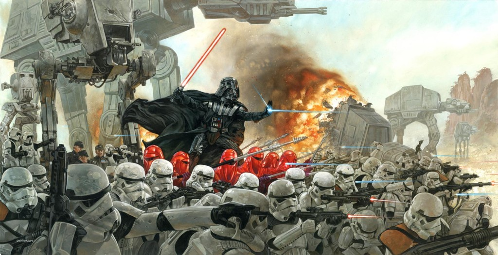 Star Wars Art Thought Many
