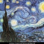 Starry Night Reproduction Most Famous Paintings Large