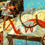 Stenographic Figure Jackson Pollock Facts About The Painting