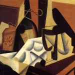 Still Life White Tablecloth Juan Gris Wikipaintings