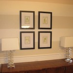 Strictly Simple Style Dining Room Update Inexpensive Wall Art