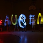 Students Imperial Create Light Paintings Summer