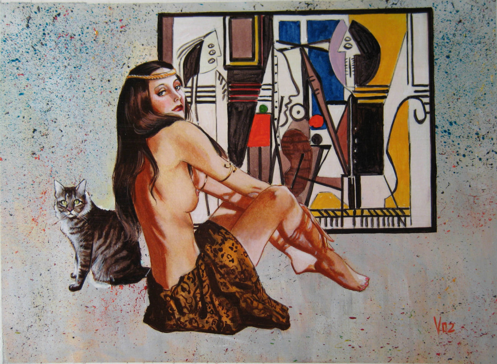 Study One Picasso Paintings Jezebel The Time Mistress