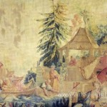Style Chinoiserie Francois Boucher Oil Painting Reproduction