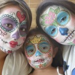 Sugar Skull And Creepy Face Painting