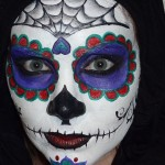 Sugar Skull Face Painting Tutorial Youtube