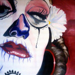 Sugar Skull Painting Dustin Burnette Fine Art Prints