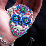 Sugar Skull Pendant Creepy Cute Couture Deviantart