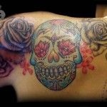 Sugar Skull Shoulder State Art Tattoo Deviantart