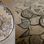 Sugar Skull Tattooed Leather Art Punctured Artefact Deviantart