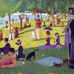 Sunday Afternoon The Island Grand Jatte Imitation