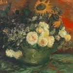 Sunflowers Roses And Other Flowers Vincent Van Gogh Mystudios