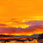 Sunrise Painting Mike Savlen Mimosa Fine Art Prints