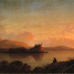 Sunrise The Maine Coast Mount Desert Island Painting Fitz