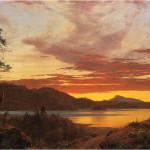 Sunset Frederic Church Artinthepicture
