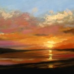 Sunset Paintings New Blog
