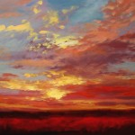 Sunset Paintings Wendy Puerto