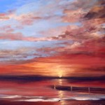 Sunset Paintings Wendy Puerto New From