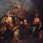 Surrounded Angels Painting Fosse Charles Oil