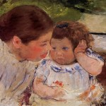 Susan Comforting The Baby Mary Cassatt Wikipaintings
