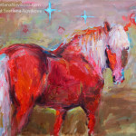Svetlana Novikova Studio Recent Horse Art Paintings