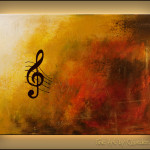 Symphony Music Art Jazz Wall Paintings For Sale Guitar Piano