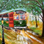 Tarlton Original Oil Painting New Orleans Streetcar Art Ebay