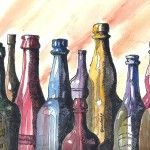 Terry Ink And Watercolor Bottles Color