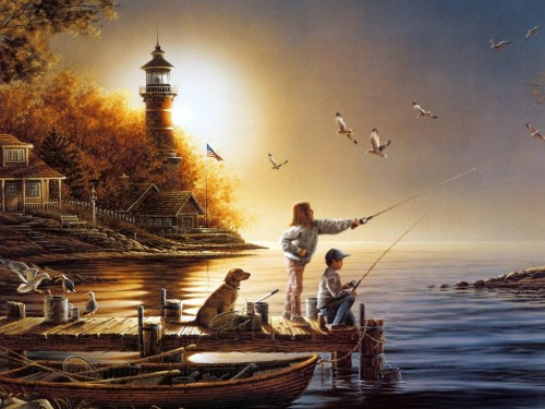 Terry Redlin Paintings Art
