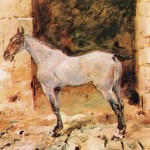 Tethered Horse Henri Toulouse Lautrec Wikipaintings
