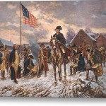 The American Revolution George Stretched Canvas Print Art