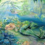 The Art Gallery Josephine Wall Paintings Well Known English Painter