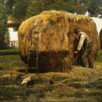 The Barnyard Hassam Wikipaintings