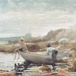 The Beach Painting Winslow Homer Boys Fine Art