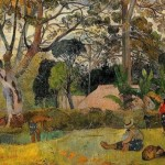 The Big Tree Paul Gauguin Oil Painting Reproduction