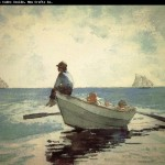 The Boy Winslow Homer Wholesale China Oil Painting Picture Frame