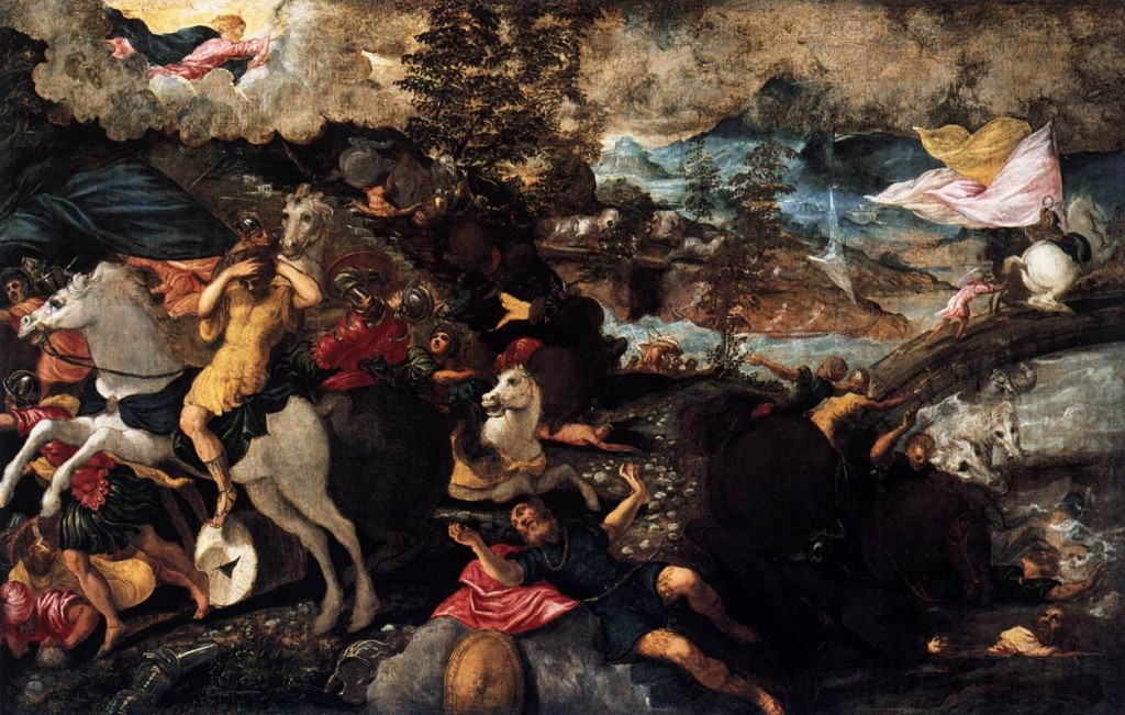 The Conversion Saul Tintoretto Wikipaintings