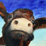 The Cow Lady Artist Paintings Cornwall