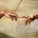 The Creation Michelangelo Buon Reproduction Fine Art
