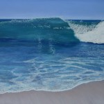The Creative Canvas Wave Painting