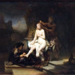 The Famous Painting Toilet Bathsheba Rembrandt Van Rijn