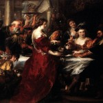The Feast Herod Peter Paul Rubens Wikipaintings