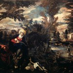 The Flight Into Egypt Tintoretto Wikipaintings