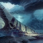 The Full Moon Night Picture Fantasy Landscape Epic Environment