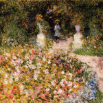 The Garden Pierre Auguste Renoir Wikipaintings