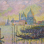 The Grand Canal Paul Signac Longer Dots But Dashes Color