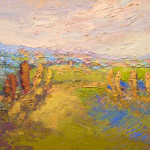 The Guardians Landscape Painting Contemporary Artwork Richmond