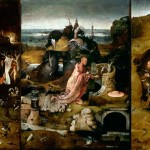 The Hermits Hieronymus Bosch Art Print Hand Painted Oil